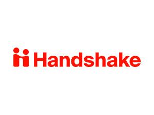 Handshake color logo